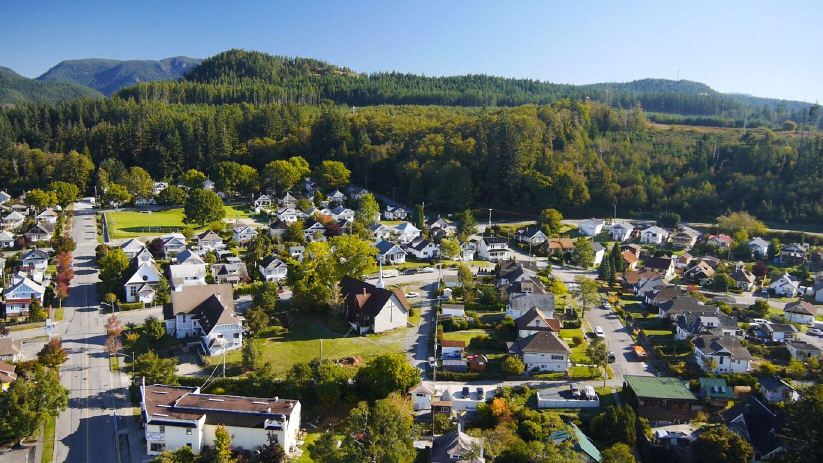 townsite-aerial